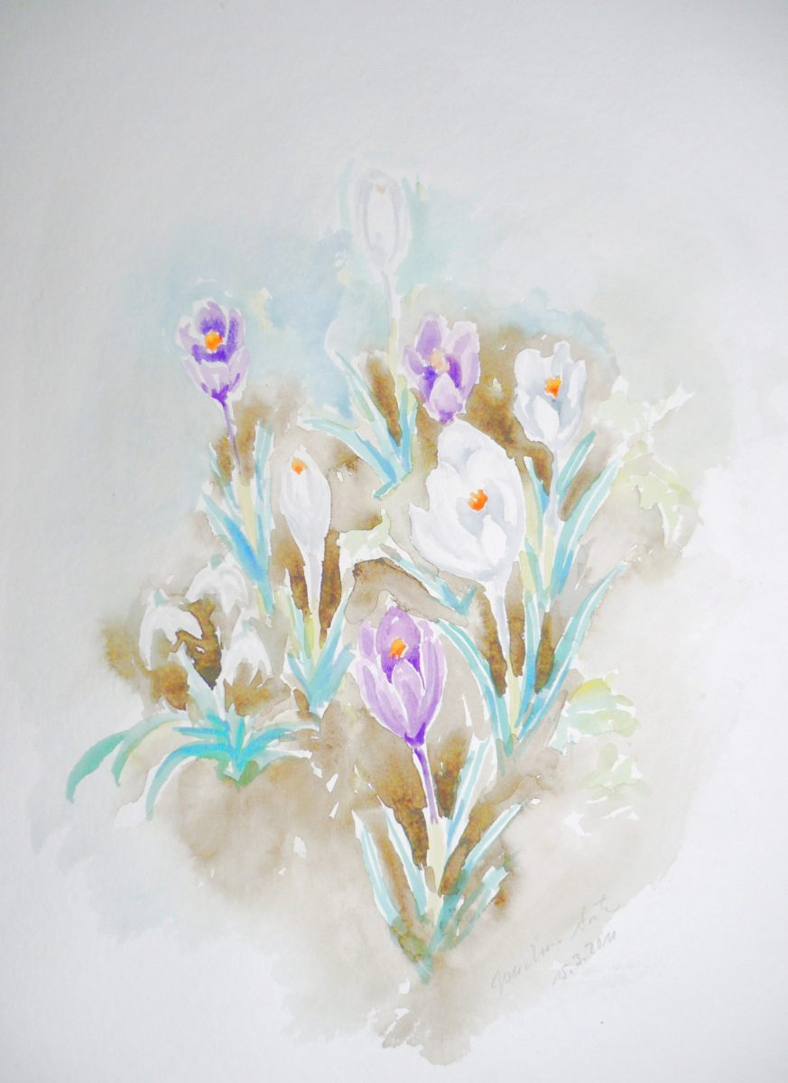 Gartenblumen, 15.03.2011