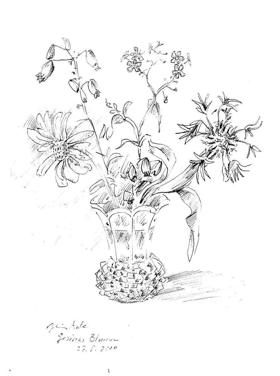 Gesinas Blumen, 27.05.2000