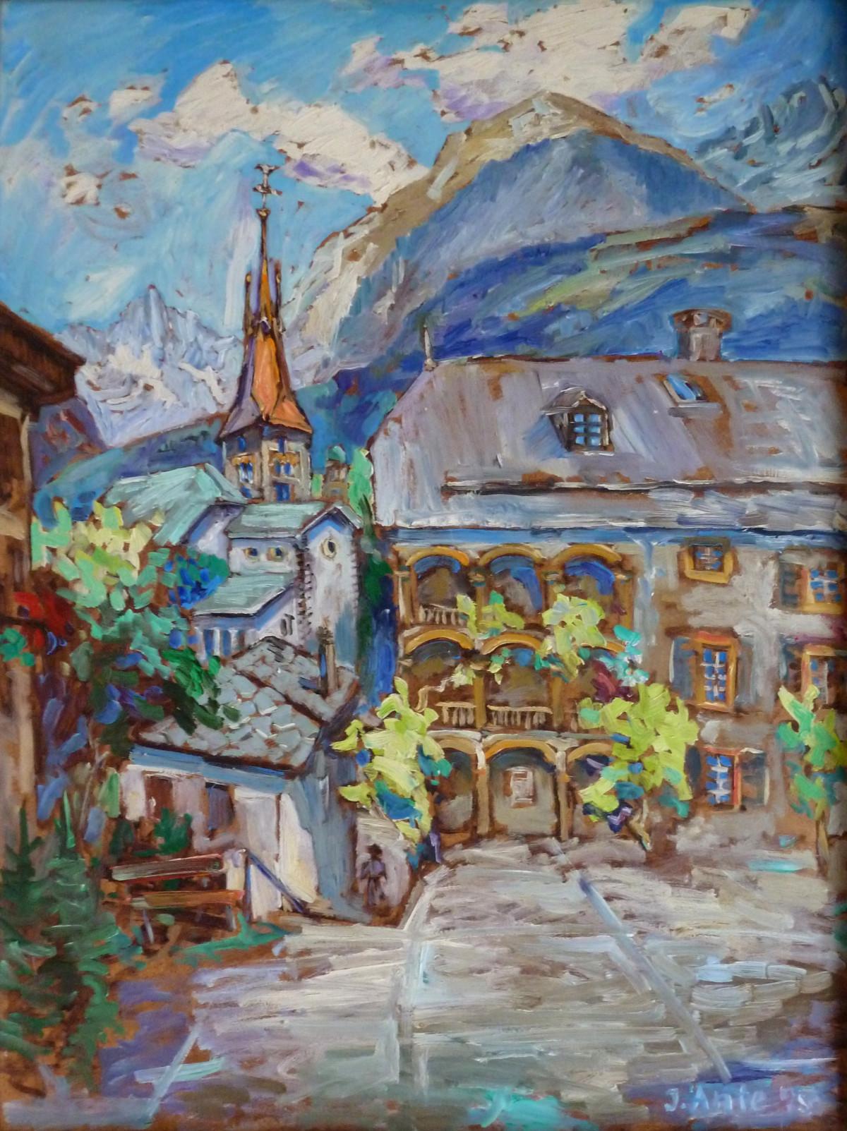 Visp, Öl, 1985