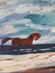 Pferd am Meer, Datum unbekannt