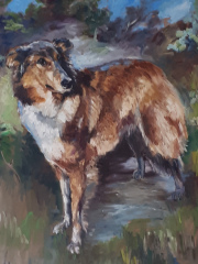Lissa, Ölbild, Datum unbekannt