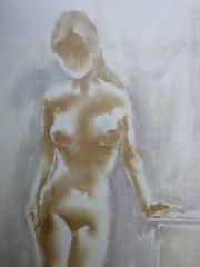 Stehende Frau, Akt, Datum unbekannt