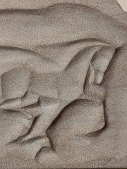 Pferd im Lauf, Relief, Datum unbekannt